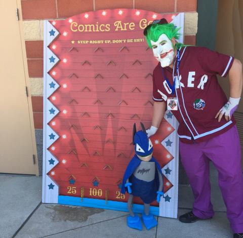 Joker and Batman and Plinko